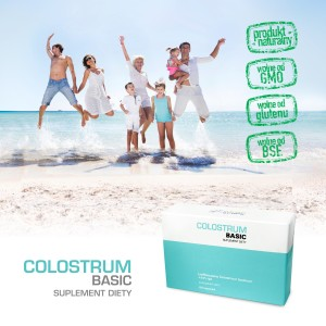 Colostrum Basic - Colostrum  kapsułki 60 szt.
