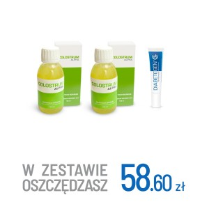 2x Colostrum Alpha + Diabetegen 15g