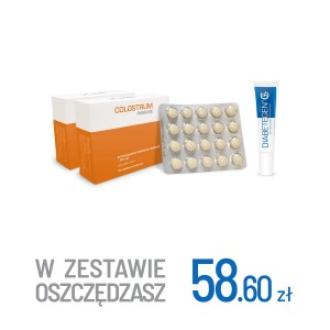 2x Colostrum Immune + Diabetegen 15g
