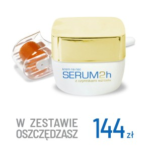Serum2h na Noc z colostrum + Mezoroller