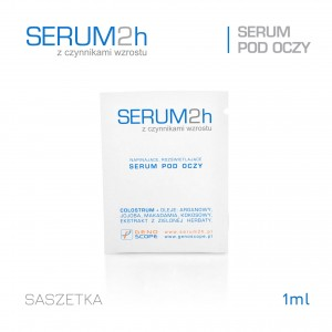 Serum2h pod oczy - saszetka 1ml